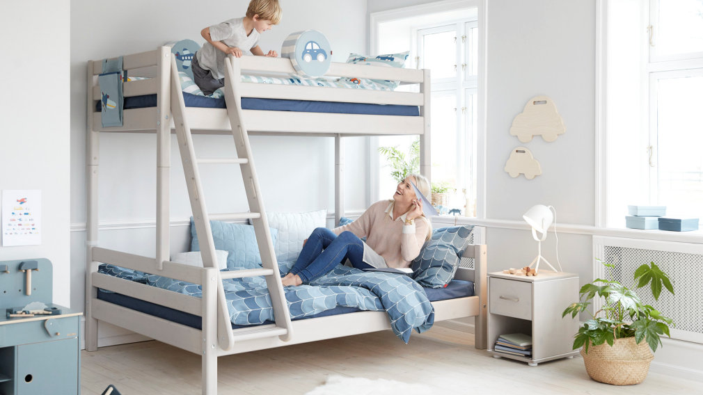 Flexa Kombi Etagenbett : Flexa classic kinderzimmer und etagenbetten incl lattenrost