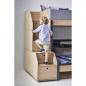Preview: Flexa Popsicle Halbhohes Bett mit Treppe in 90x200 Kiwi