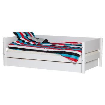 flexa white einzelbett in wei wei 90 10601 40 531. Black Bedroom Furniture Sets. Home Design Ideas