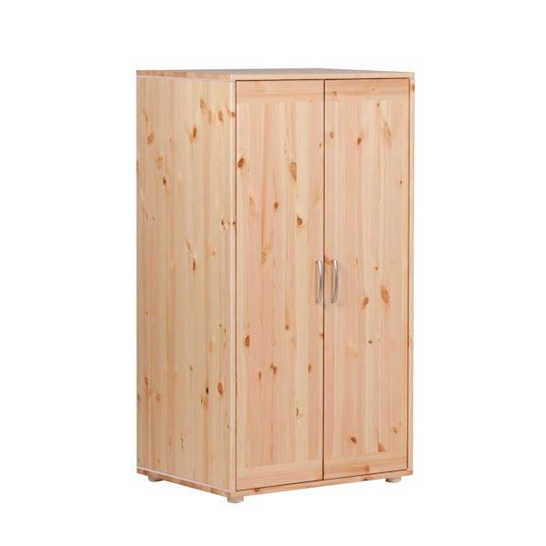 kleiderschrank 2 t ren kiefer rosa rosa 347. Black Bedroom Furniture Sets. Home Design Ideas