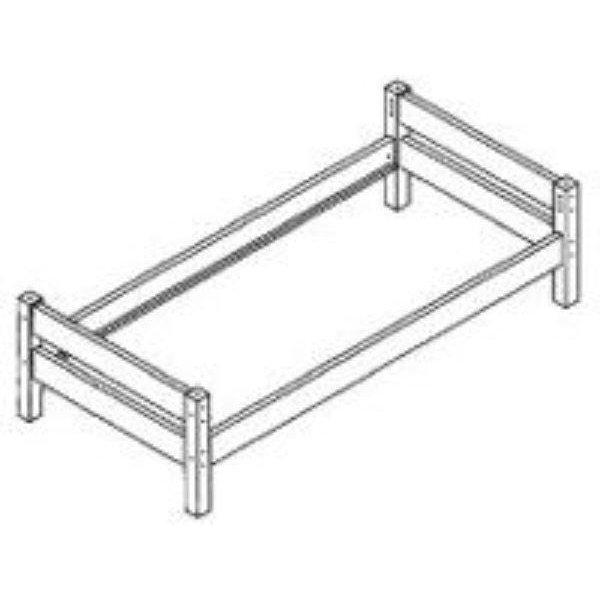 basic schrauben f r maxi einzelbett 90x200 wei 39. Black Bedroom Furniture Sets. Home Design Ideas