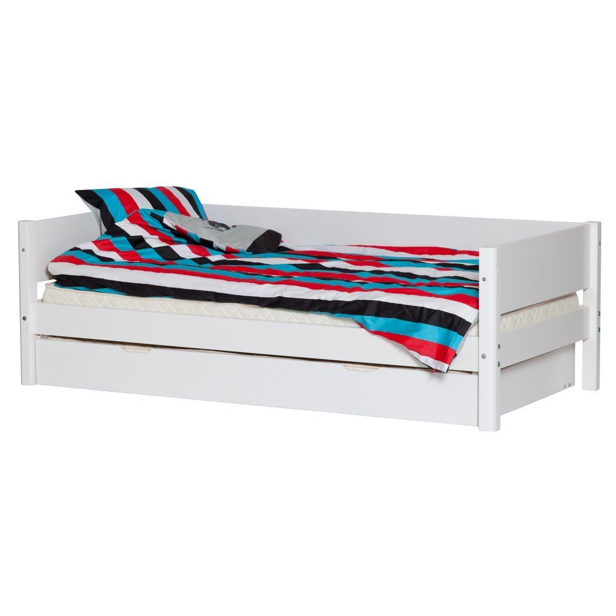 Verführerisch Flexa White Einzelbett Foto Von 90x200 Mit Ausziehbett In Weiß
