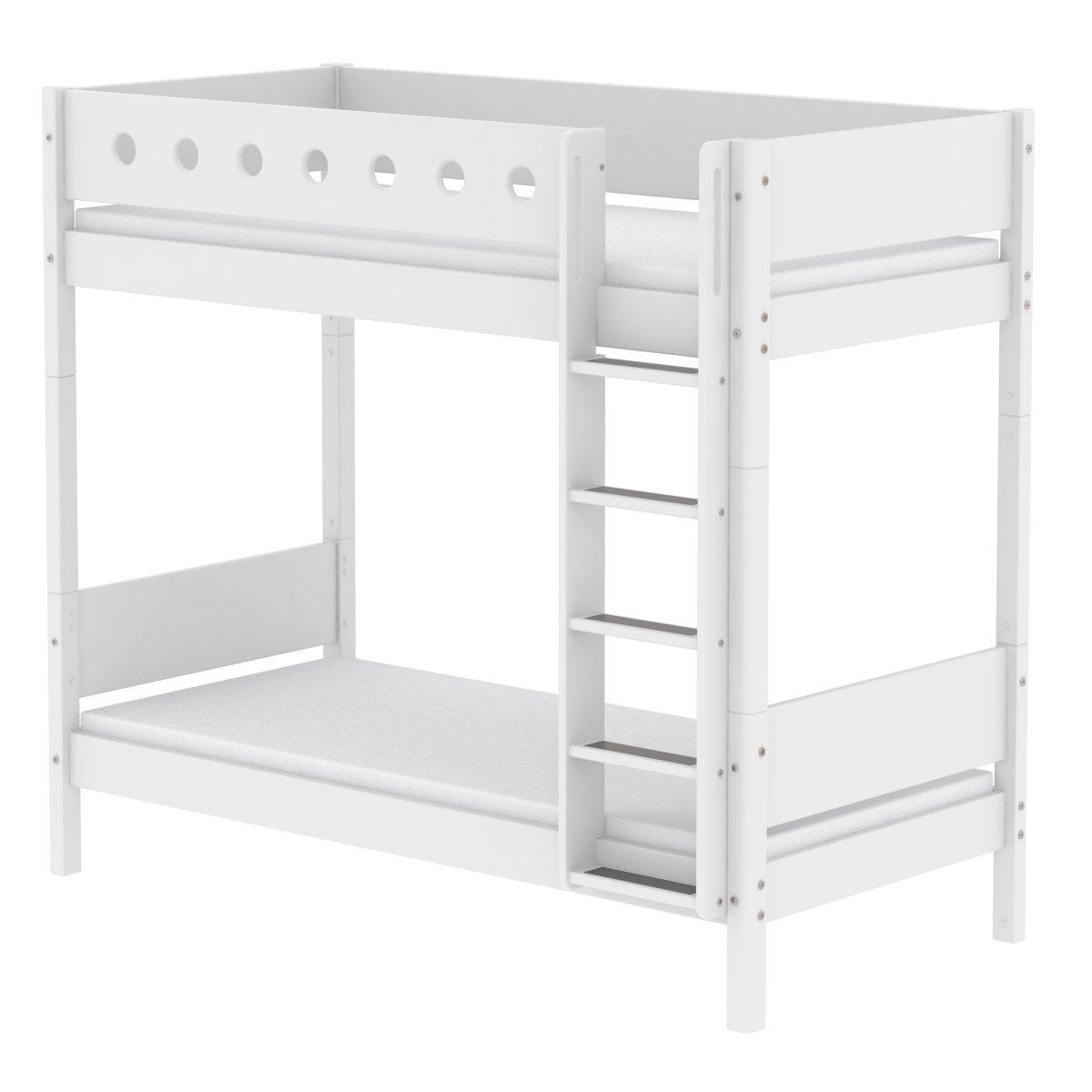 Wundervoll Flexa Etagenbett Referenz Von White Extra Hohes 90x200 Weiß/weiß