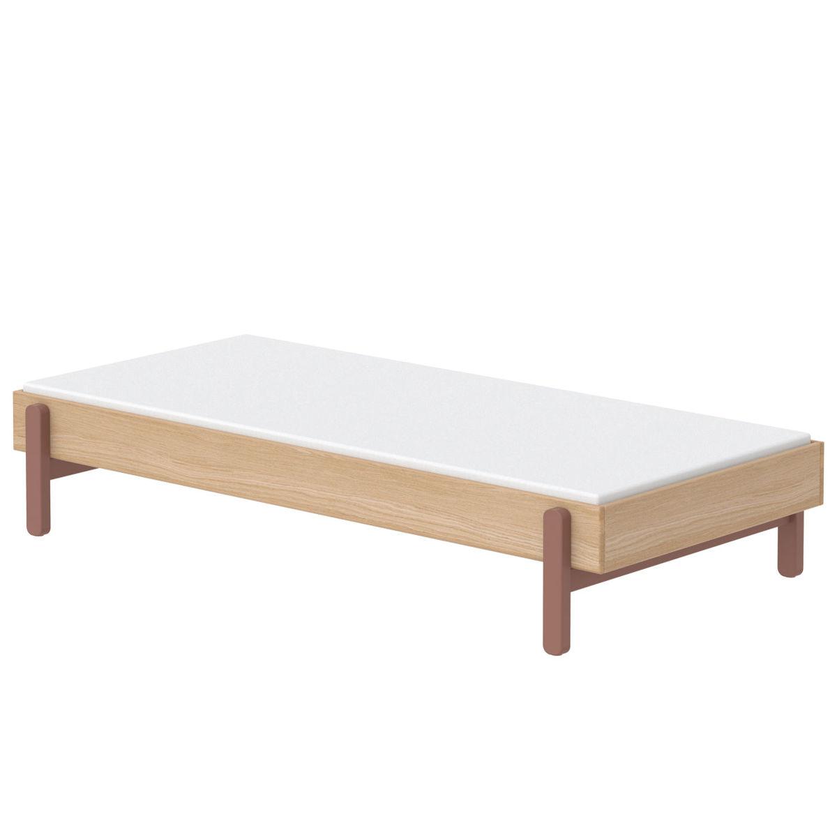 flexa popsicle einzelbett 90x200 cherry 80 24101 33 439. Black Bedroom Furniture Sets. Home Design Ideas