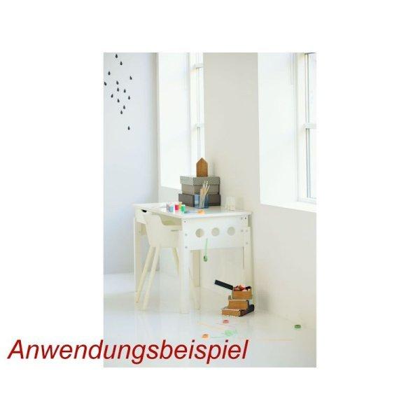 flexa white schreibtisch h henverstellbar beine wei 285. Black Bedroom Furniture Sets. Home Design Ideas