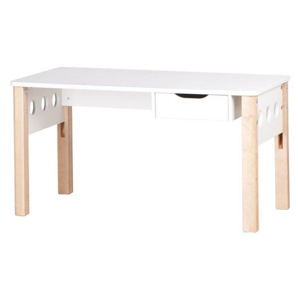 Innovativ Flexa White Schreibtisch höhenverstellbar, Beine birke - nur 285 Eur IK94