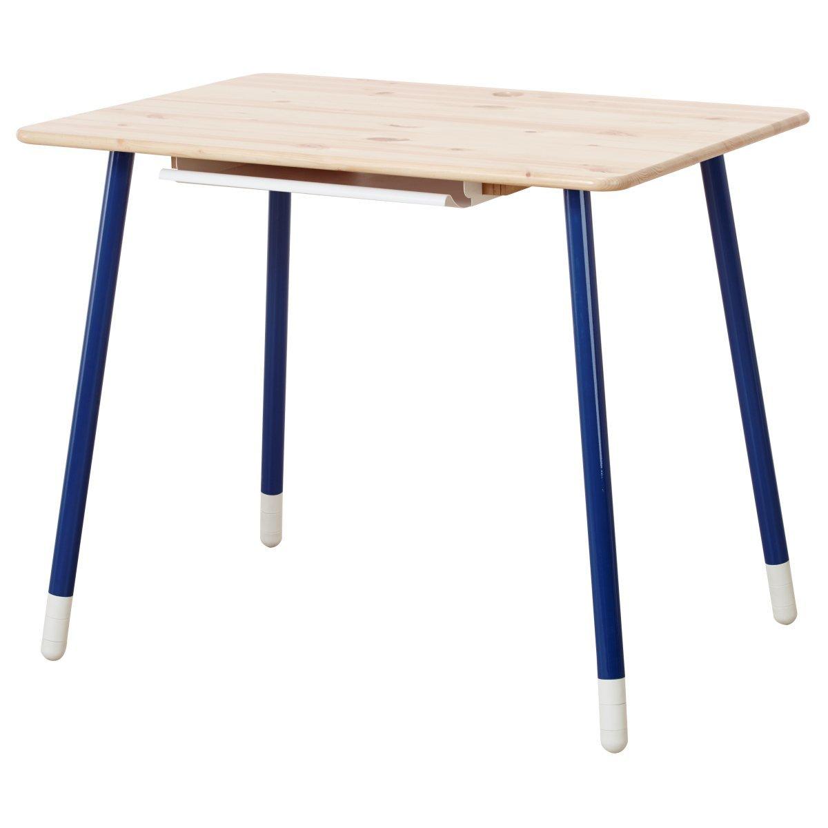flexa classic schreibtisch in natur blau 82 50089 1 210. Black Bedroom Furniture Sets. Home Design Ideas