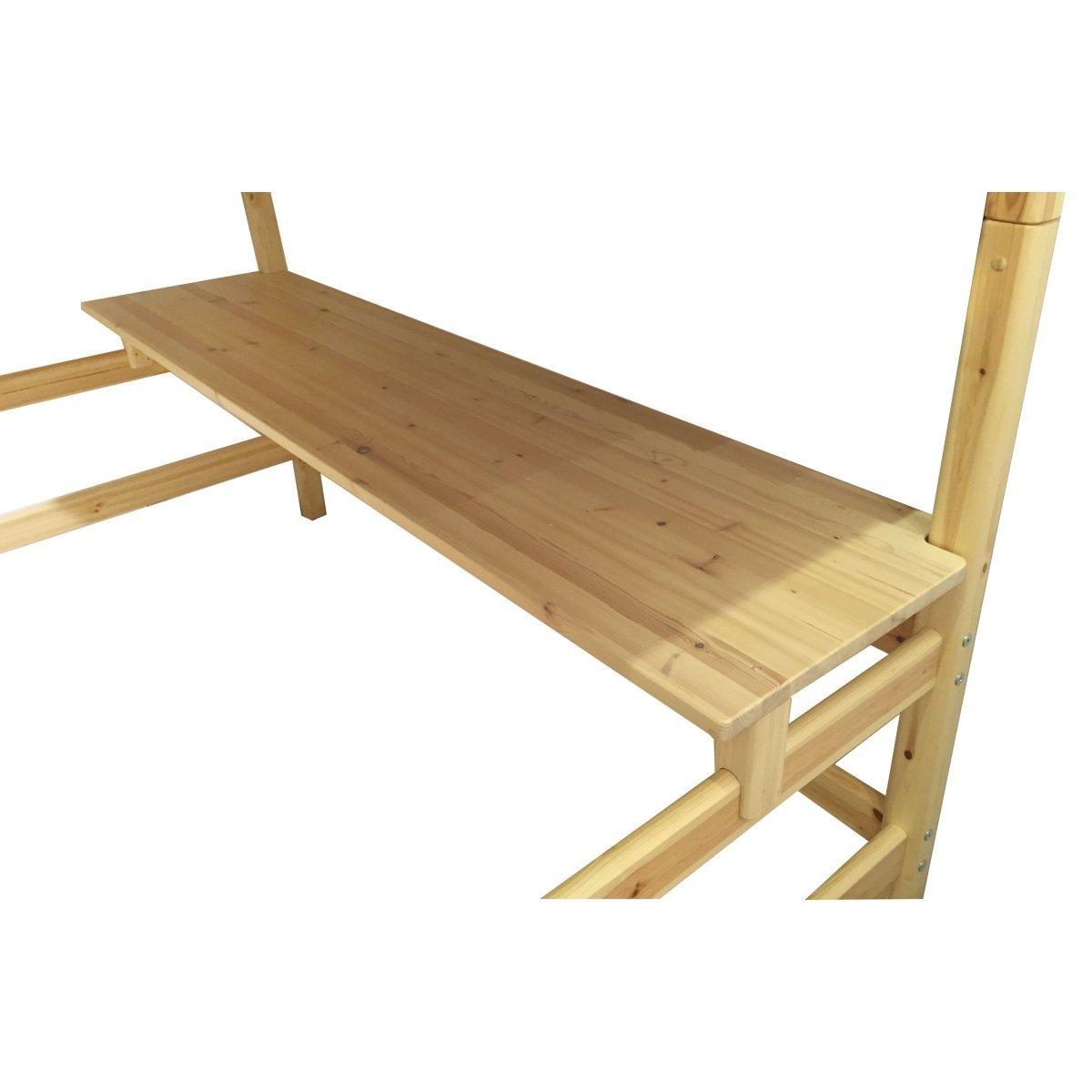schreibtischplatte 200 hochbetten natur 82 50112 1 168. Black Bedroom Furniture Sets. Home Design Ideas