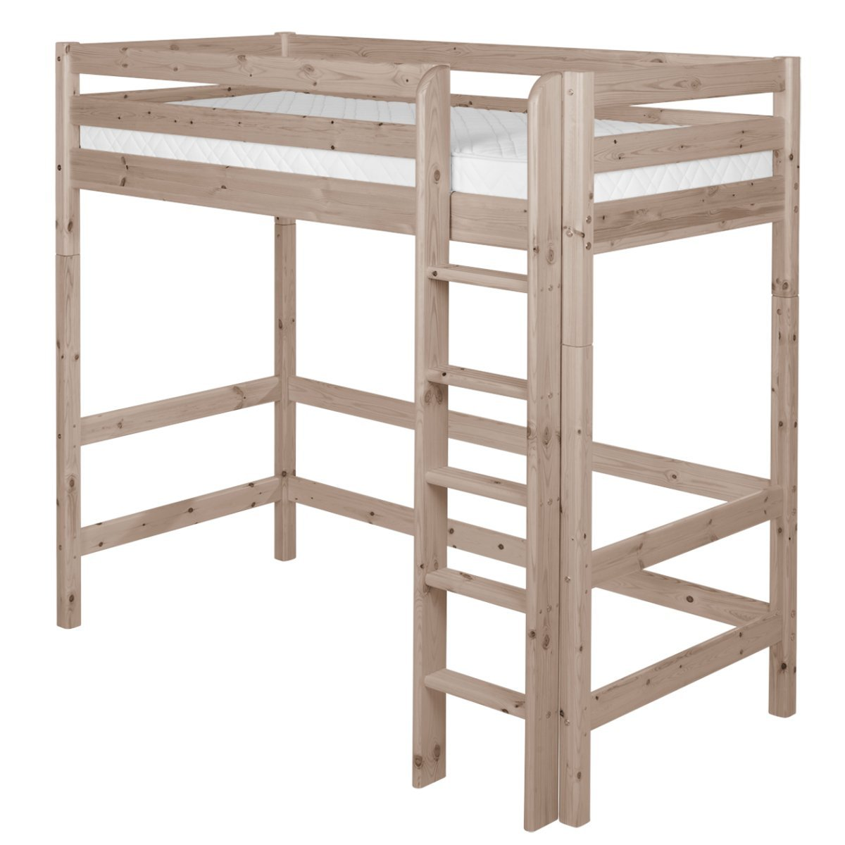 flexa classic hochbett in terra 90 10069 11 01 639. Black Bedroom Furniture Sets. Home Design Ideas