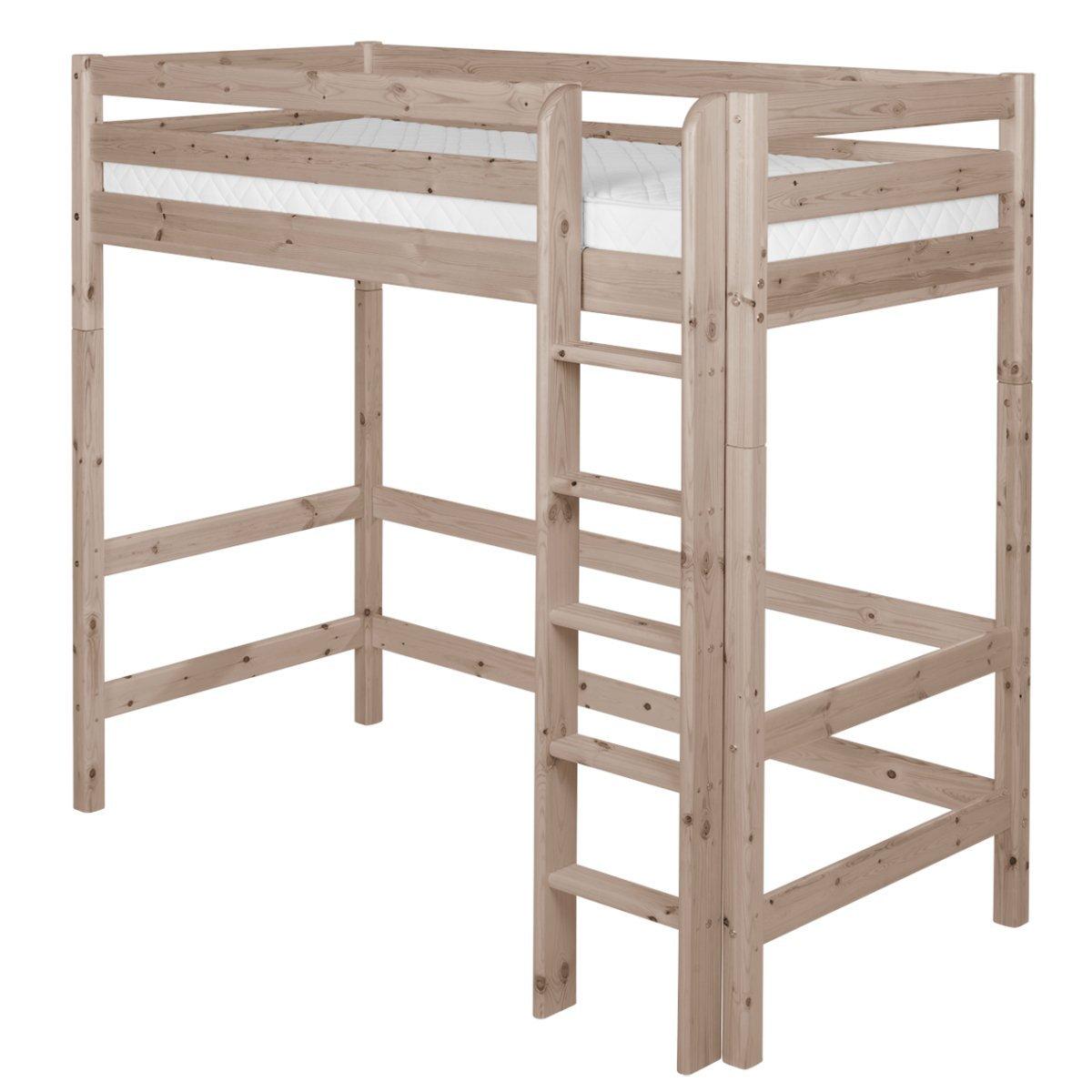 flexa classic hochbett in terra 90 10069 11 01 674. Black Bedroom Furniture Sets. Home Design Ideas