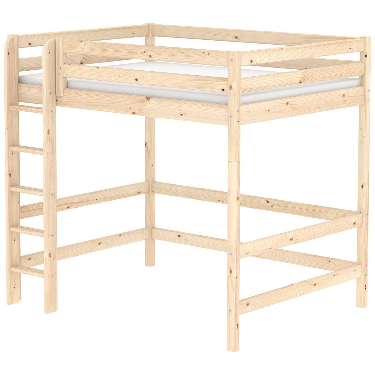 flexa classic hochbett in natur 90 10621 1 01 774. Black Bedroom Furniture Sets. Home Design Ideas