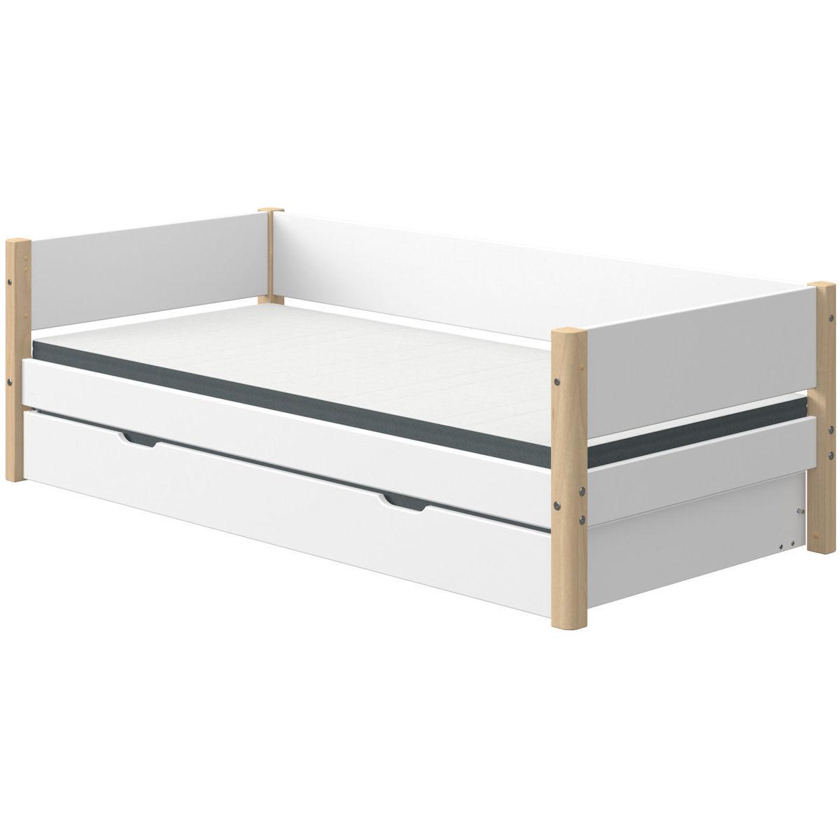 white einzelbett 90x190 g stebett birke 90 10757 95 539. Black Bedroom Furniture Sets. Home Design Ideas
