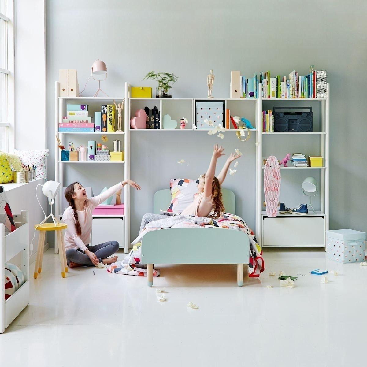 Flexa Play Kinderbett In 90x200 Cm Weiß 203