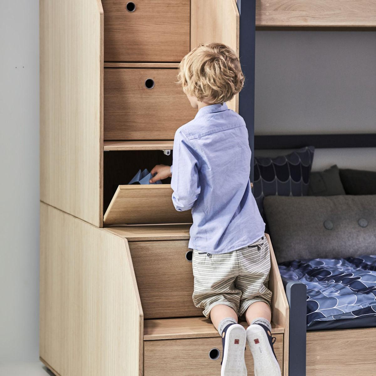 flexa popsicle halbhohes bett 90x200 kiwi 90 10765 31. Black Bedroom Furniture Sets. Home Design Ideas