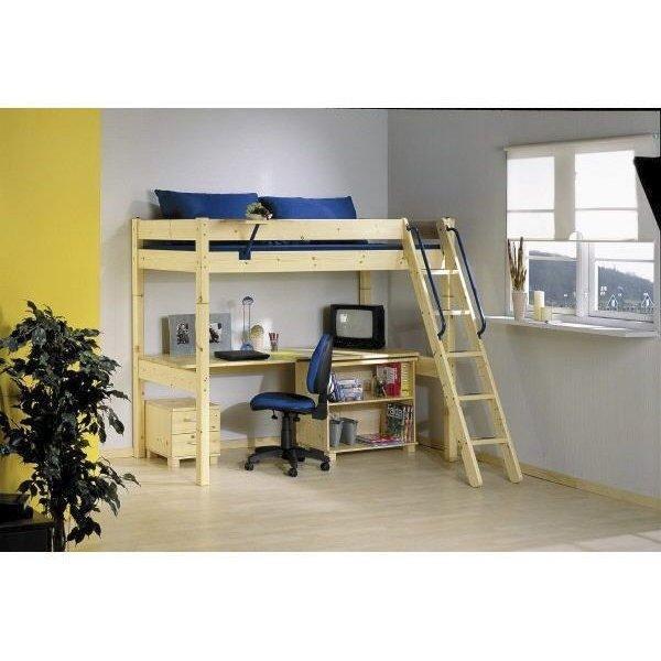 thuka maxi baupaket hochbett schr gl nat nur 309 eur. Black Bedroom Furniture Sets. Home Design Ideas