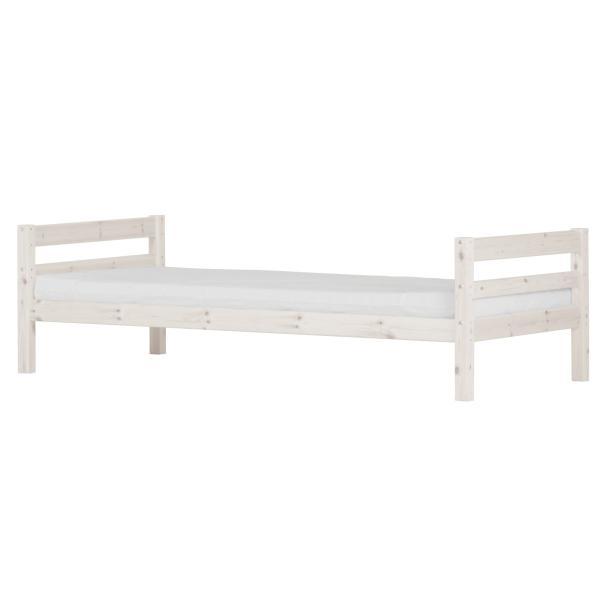 flexa basic hit jugendbett 90x200 wei 139. Black Bedroom Furniture Sets. Home Design Ideas