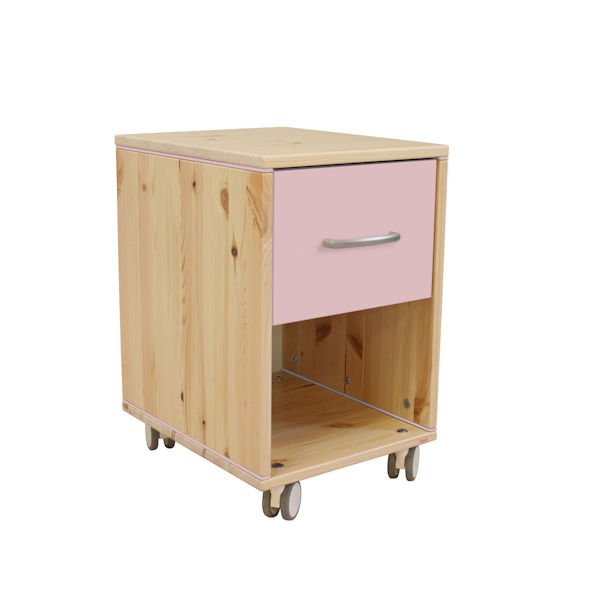 classic kommode 3 sch be kiefer rosa rosa 151. Black Bedroom Furniture Sets. Home Design Ideas